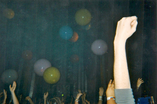 Fistpumping And Balloons