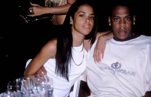 Aaliyah and Jay Z