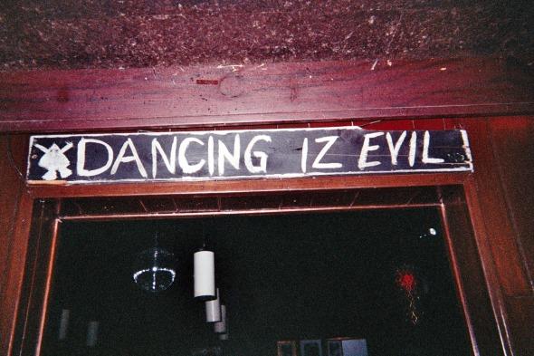Dancing Is Evil